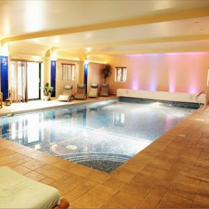 Les Roches Indoor heated pool